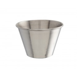 4oz Stainless Steel Ramekin height 5cm,base 4.2cm,top dia 7cm