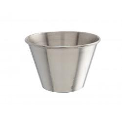 4oz Stainless Steel Ramekin height 5cm,base 4.2cm,top dia 7cm
