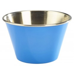 6oz Stainless Steel Ramekin Blue