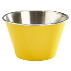 6oz Stainless Steel Ramekin Yellow