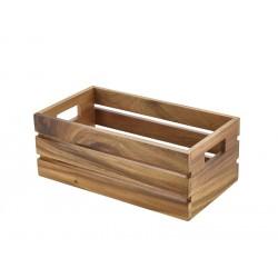 Acacia Wood Box/Riser GN 1/3 32.5x18x12.3cm