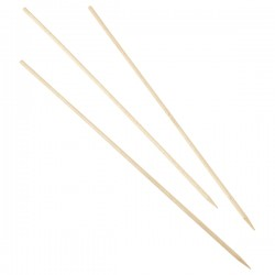 "Wooden Skewers 25cm/10"" (100pcs)"