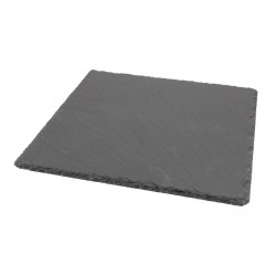 Genware Natural Edge Slate Platter 28 X 28cm