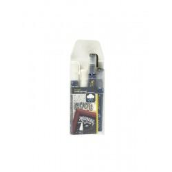 Waterproof Chalk Markers 2 Colour Pack (W, BK) Medium 2-6mm Edge Tip