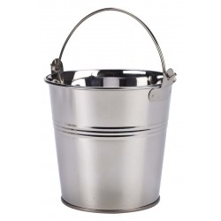 Stainless Steel Serving Bucket 10cm Dia. Height 9cm - 50cl/17.6oz