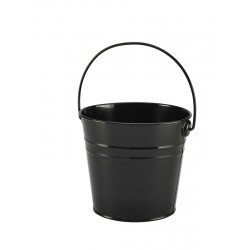 Stainless Steel Serving Bucket 16cm Dia. Black 14cm (H)