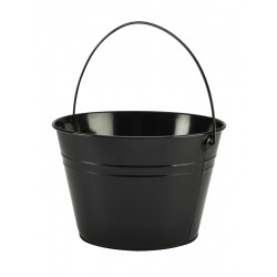Stainless Steel Serving Bucket 25cm Dia. Black 17cm (H)