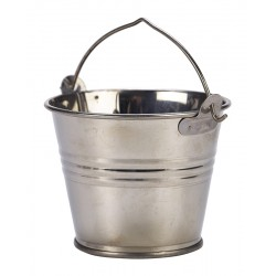 Stainless Steel Serving Bucket 7cm Dia. 4oz 12.5cl capacity