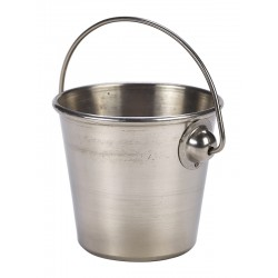 Stainless Steel Premium Serving Bucket 7cm Dia. Height 6cm - 15cl/5.3oz