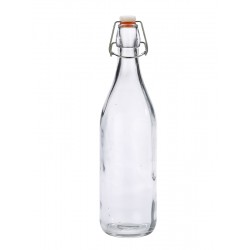 Genware Glass Swing Bottle 1L / 35oz (pack of 6)