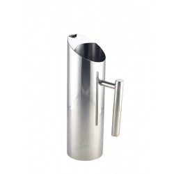 Stainless Steel Water Jug 1.2L/42.25oz 29.3 x 8.8cm (H x Dia.)