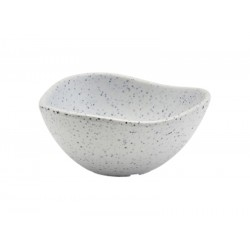 White Granite Melamine Triangular Ramekin 3.5oz