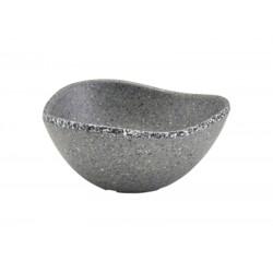 Grey Granite Melamine Triangular Ramekin 3.5oz