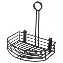 Black Wire Table Caddy 8.5 x 6 x 9 (H) 21.5 (W) x 15 (D) x 22.5 (H)cm