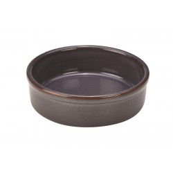 Terra Stoneware Rustic Blue Tapas Dish 43cl/15oz (pack of 12)