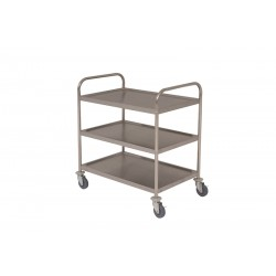 Stainless Steel  Trolley 85.5L X 53.5W X 93.3H
