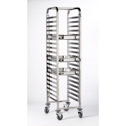 Stainless Steel  Gastronorm  FULL SIZE Trolley