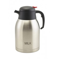 Milk Inscribed St/St Vacuum Jug 2.0L