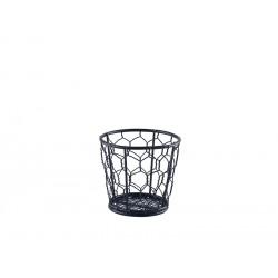 Black Wire Basket 10cm Dia.