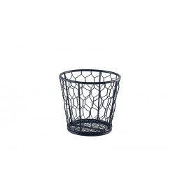 Black Wire Basket 12cm Dia.