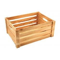 Wooden Crate Rustic Finish 41 x 30 x 18cm