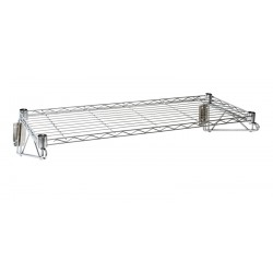 Wall Mounted Wire Shelf 36(L) X 14(D) Weight capacity 30kg